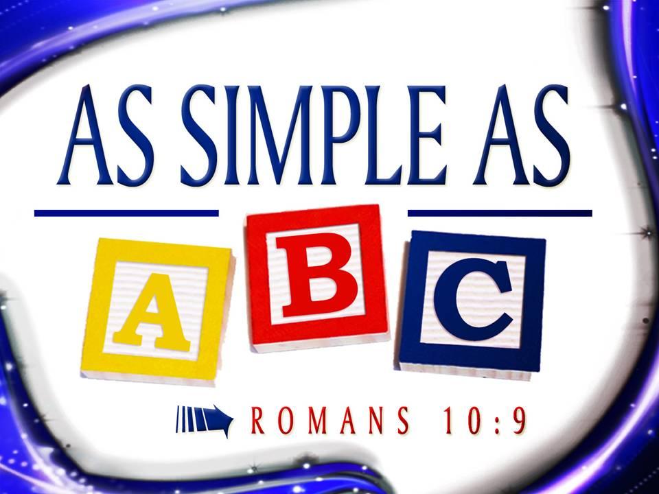 abc s of salvation genesis evidence ministries